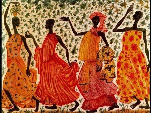 Pintura africana (african painting) -Música percusión étnica