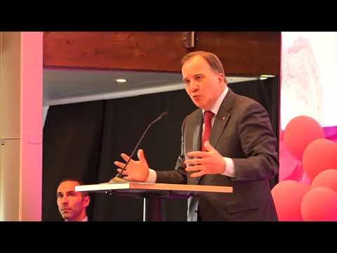 Statsminister Stefan Löfven invigningstalar på Vårdförbundets kongress 2018