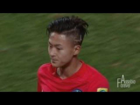Seung-Woo Lee vs England . 2016 Suwon Continental Cup