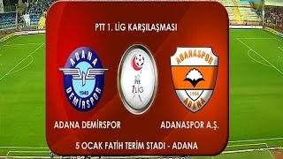 Adana Demirspor 2-0 Adanaspor A.Ş. 9. Hafta