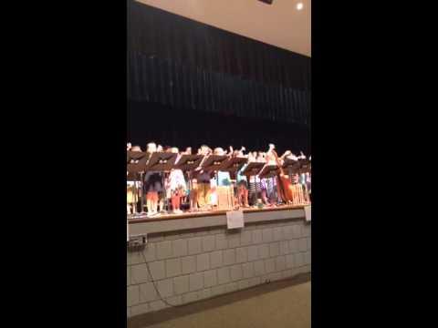 Third grade recorder concert crystal lake school