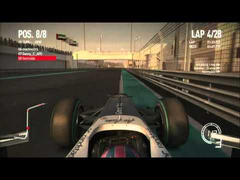 [ARL] F1 2010 PS3 [F8] Round 19 - Abu Dhabi
