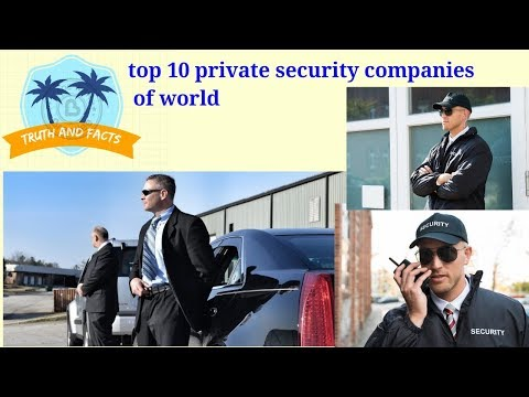 Top 10 Private Security Companies Of World