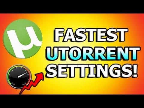 best utorrent settings 2018
