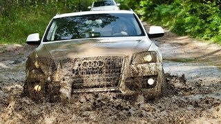 Audi Q7 VS Audi Q5 - Offroad & Snow Test