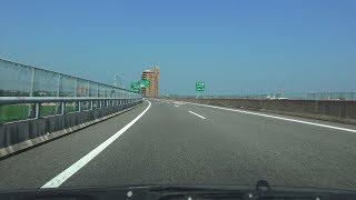 4K 松山自動車道・下り 等速 川之江JCT→松山IC→大洲南IC 2018年8月撮影版