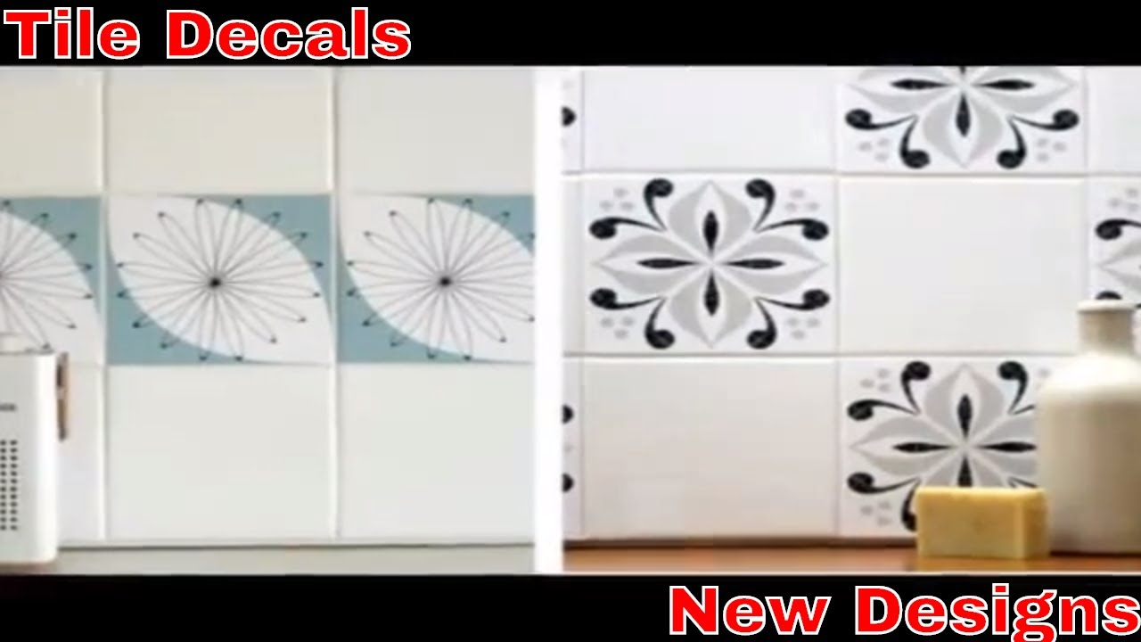 Tile Decals - YouTube