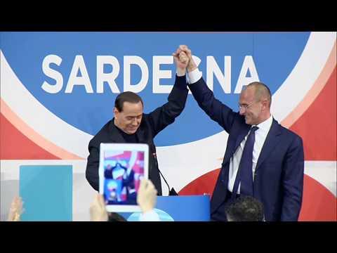 Chiusura evento - Arborea 14 febbraio con Silvio Berlusconi
