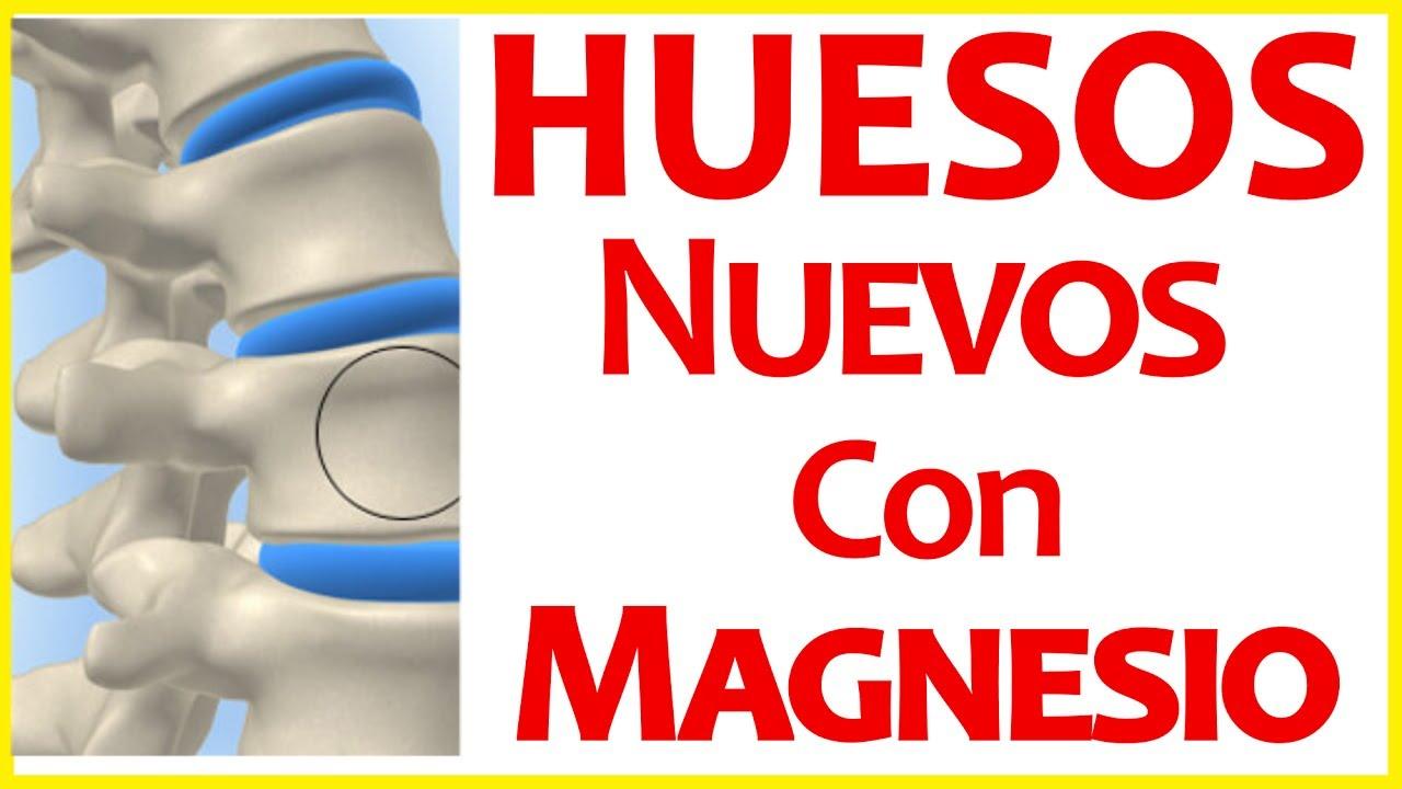 Huesos Nuevos - Regenere sus Huesos - Cura con Cloruro de Magnesio