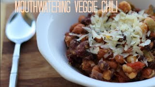 Our Famous Mouthwatering Veggie Chili Recipe