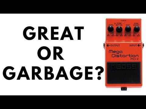 BOSS Mega Distortion - Great or Garbage?