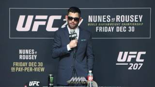 UFC 207 Post-Fight Press Conference: Dominick Cruz