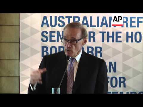 Carr says migration into Australia cannot allow migration to be carried by people smugglers