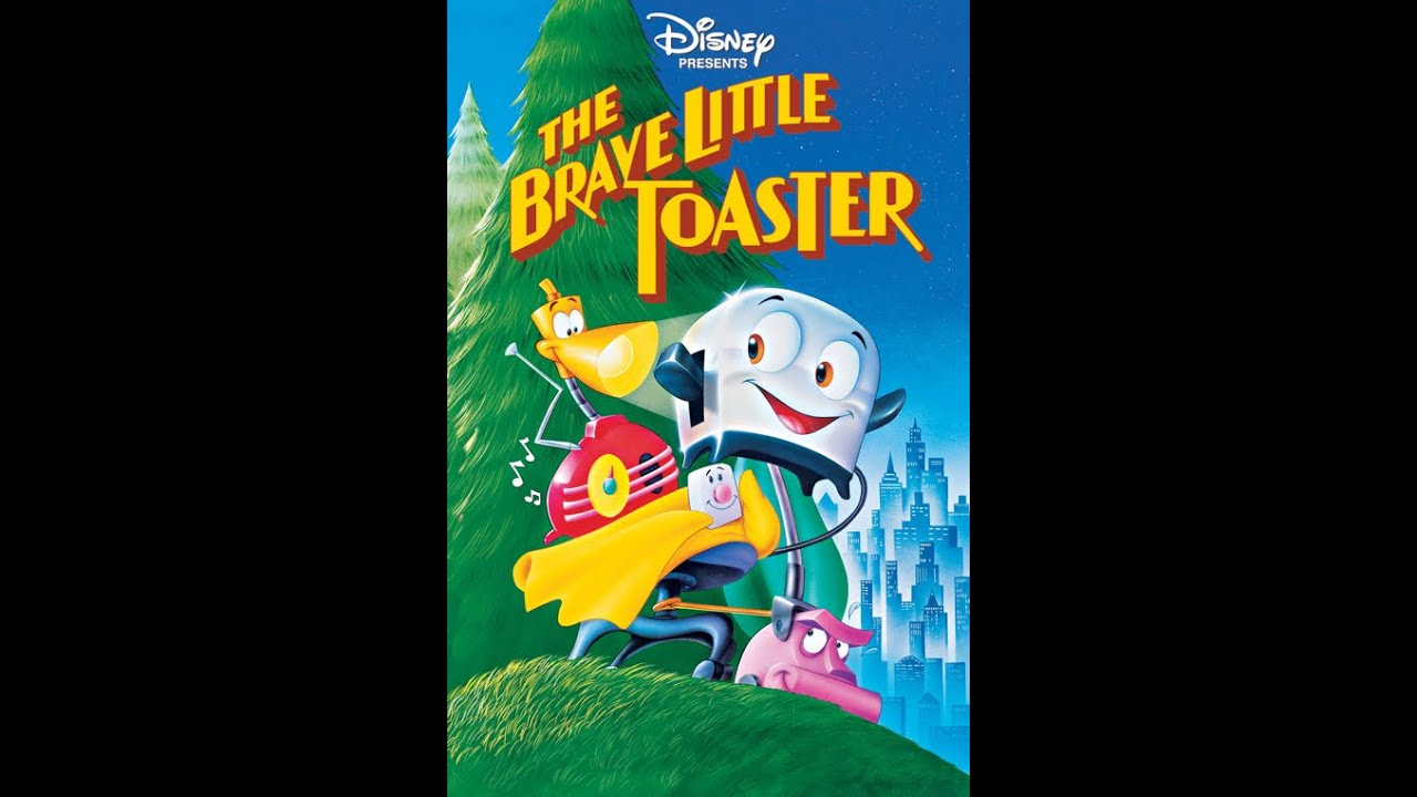 opening to the brave little toaster 1994 vhs true hq