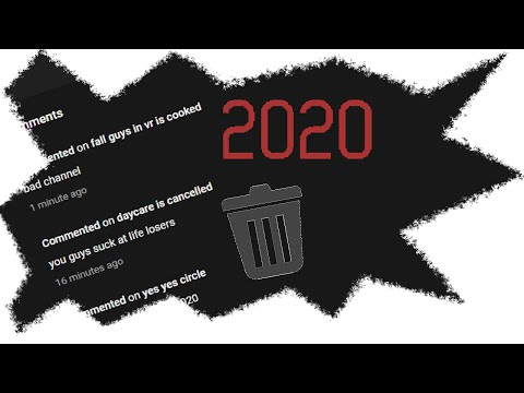 How To Delete All Of Your Youtube Comments In Bulk Without Losing Subs Or Videos!