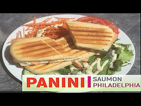 recette-panini-saumon-philadelphia-herbe-provence---rapide-et-delicieux