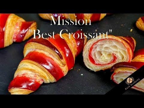 """Bicolor Croissant - Mission """"Best Croissant"""" Back Academy neuer Kurs"""