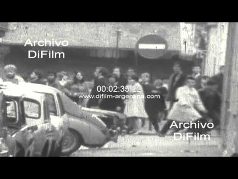 DiFilm - Student riots against police (French May) 1968