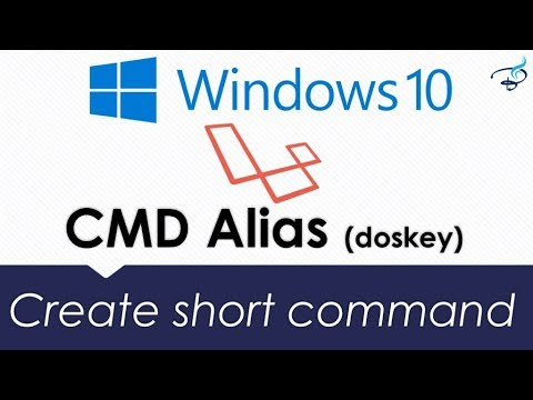 Create Command Prompt (CMD) Alias For Php Artisan Command