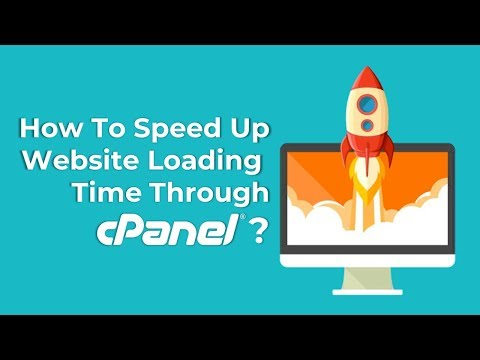 How to Optimize or Speed up the Loading Time of Website through cPanel?