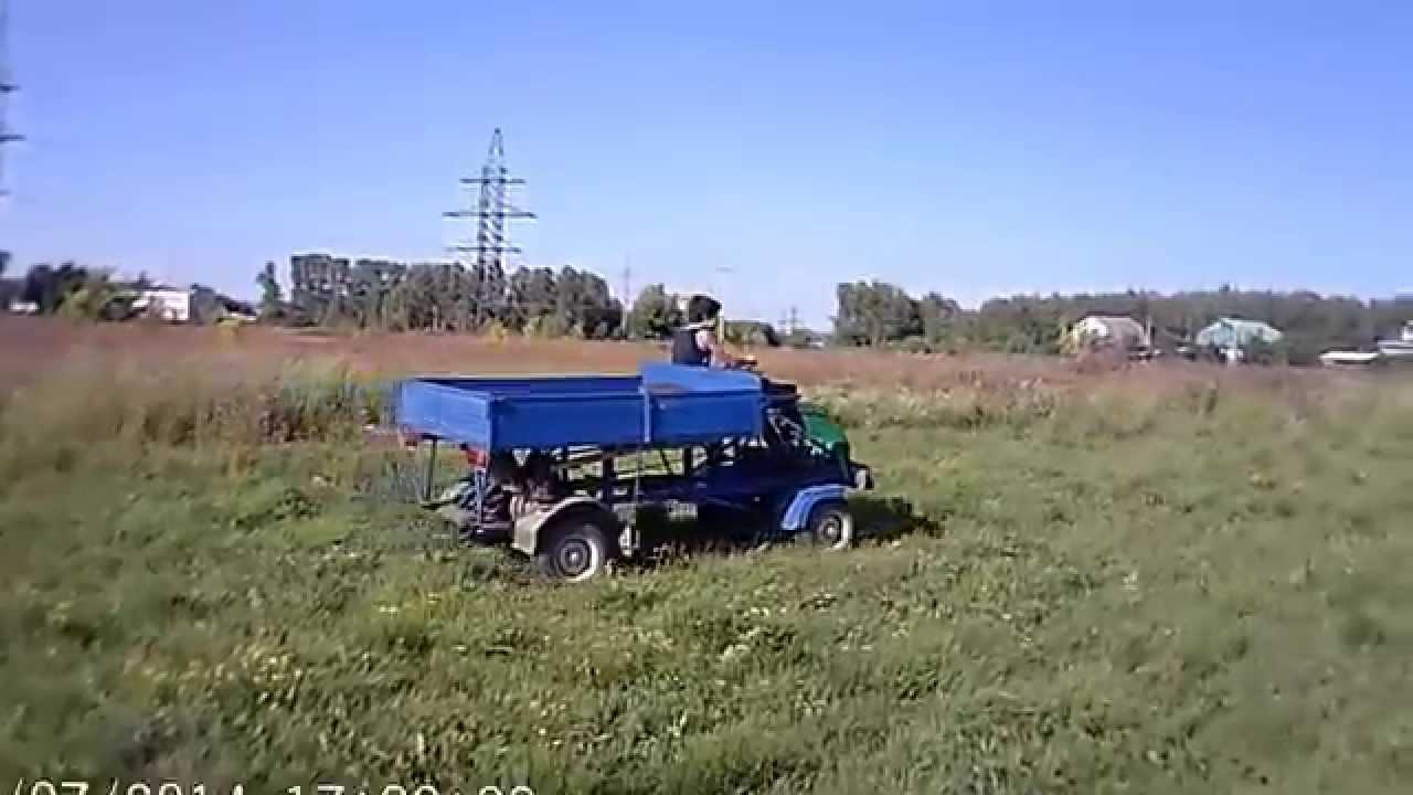 Мини грузовик - YouTube