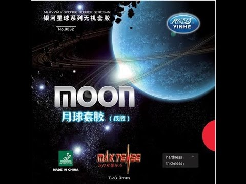 Yinhe Galaxy Moon Table Tennis PingPong Rubber unboxing and review