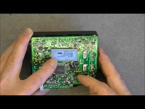 Vintage Sony XV-M30E LCD monitor teardown