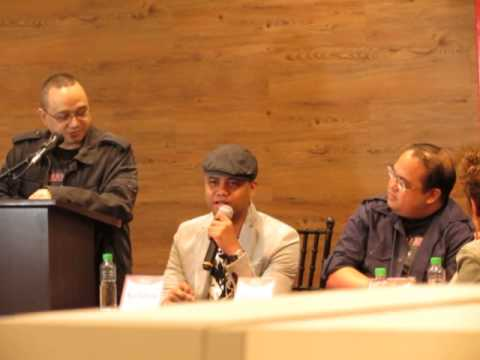 Manila Noir book signing at National Bookstore Glorietta 07-