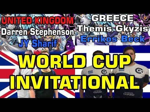 United Kingdom (Draco) vs Greece (Star Striker) Yu-Gi-Oh! World Cup Invitational 2018 Round 1!