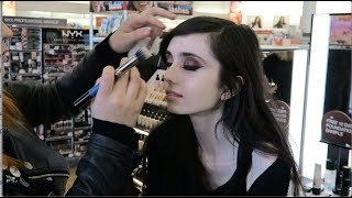 GETTING A MAKEOVER AT ULTA