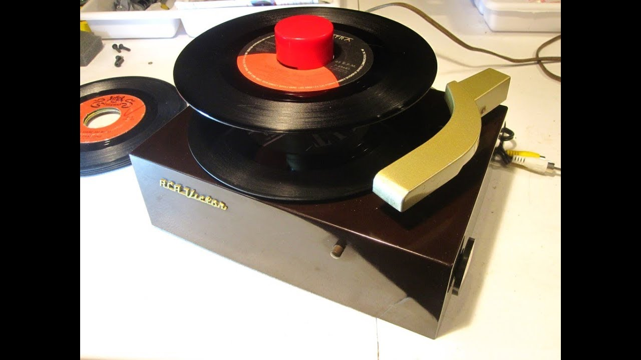 1949 RCA Victrola 45 RPM Stereo Modification and rebuild for fun or money
