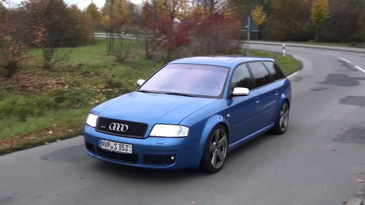 Audi Rs 6 Plus Sound Mp4 Youtube