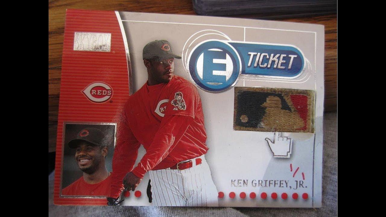the best attitude 65392 313a5 Fake Ken Griffey Jr 1/1 logoman patch cards on eBay from seller tfellure13  2000 Upper Deck & Skybox