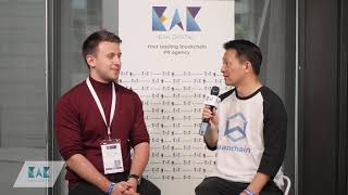 Interview with Jack Lu, founder & CEO of Wanchain at Paris Blockchain Week