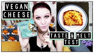 °˖✧Sainsbury's NEW Vegan Cheese With Chives✧˖° | Taste & Melt Test |