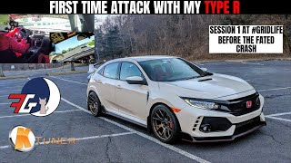 Time Attack! Civic Type R (FK8) at #GridLife Summit Point Track Battle 2 | Getting Comfortable