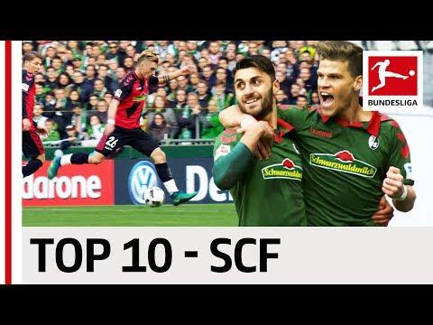 Top 10 Goals - SC Freiburg - 2016/17 Season