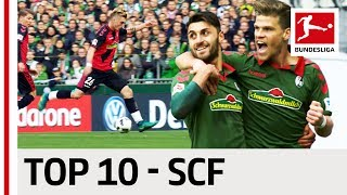 Top 10 Goals - SC Freiburg - 2016/17 Season