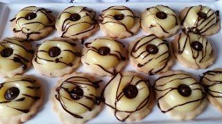 Lemon Mousse Biscuits - صابلي راقي بموس الحامض - Sablé Prestige