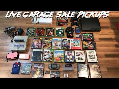 Live Garage Sale Pickups - HD Spy Cam Footage is Back! Nice Haul...