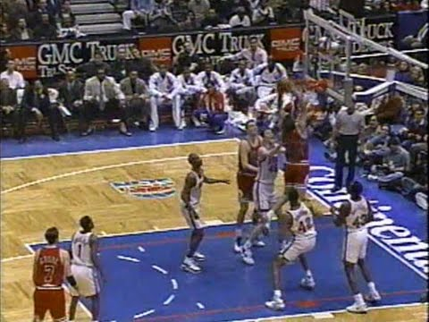 Bill Wennington Slams Down Two-Handed Putback (1996)