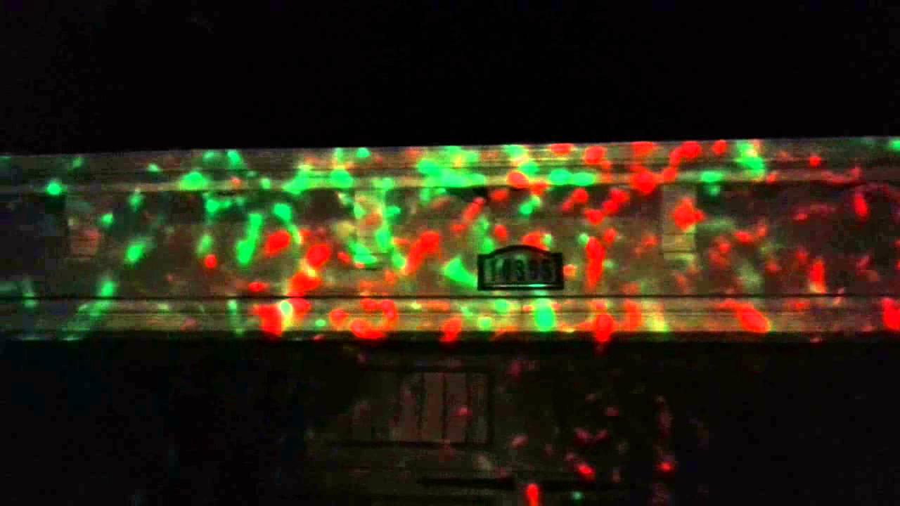 Christmas Kaleidoscope Lights - YouTube