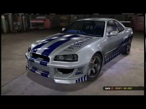 Nissan Los Angeles >> Midnight Club Los Angeles - 2 Fast 2 Furious Nissan