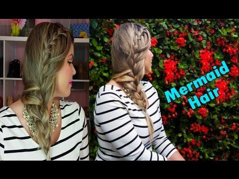 Waterfall Braid + French Braided / Mermaid Hair | Trenza Cascada + Francesa / Trenza de Sirena