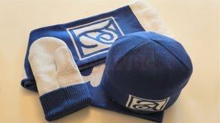 Трикотажные вязаные шарфы, шапки, варежки с логотипом на заказ(, 2014-10-14T13:19:12.000Z)