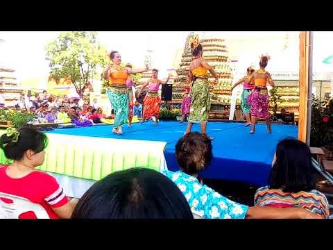 Thai Classical Dance and Drama of Thailand (ram Thai) in  Wat Pho