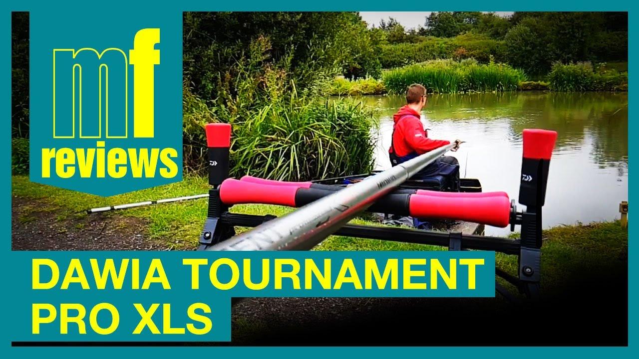 308c8586cd2 Review - Daiwa Tournament Pro XLS - Pole Fishing - YouTube