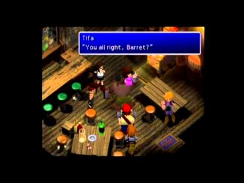 Final Fantasy VII Barret Date Guide #01, Sector 8, Sector 7, & Midgar Trains