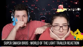 Super Smash Bros. Ultimate - World of the Light trailer reaction!!!!(STORY MODE)