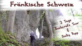 2 Tage Bushcraft Übernachtung  Fränkische Schweiz  Tour